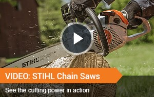 Watch Video - STIHL Chainsaws
